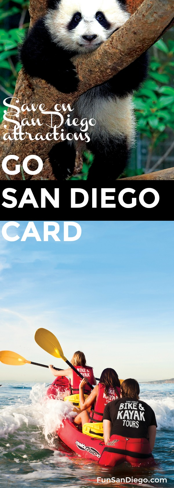 Visiting San Diego? You can save up to 55% on the best San Diego attractions and activities with the Go San Diego Card. | best things to do in San Diego | San Diego attractions | San Diego Zoo | FunSanDiego.com