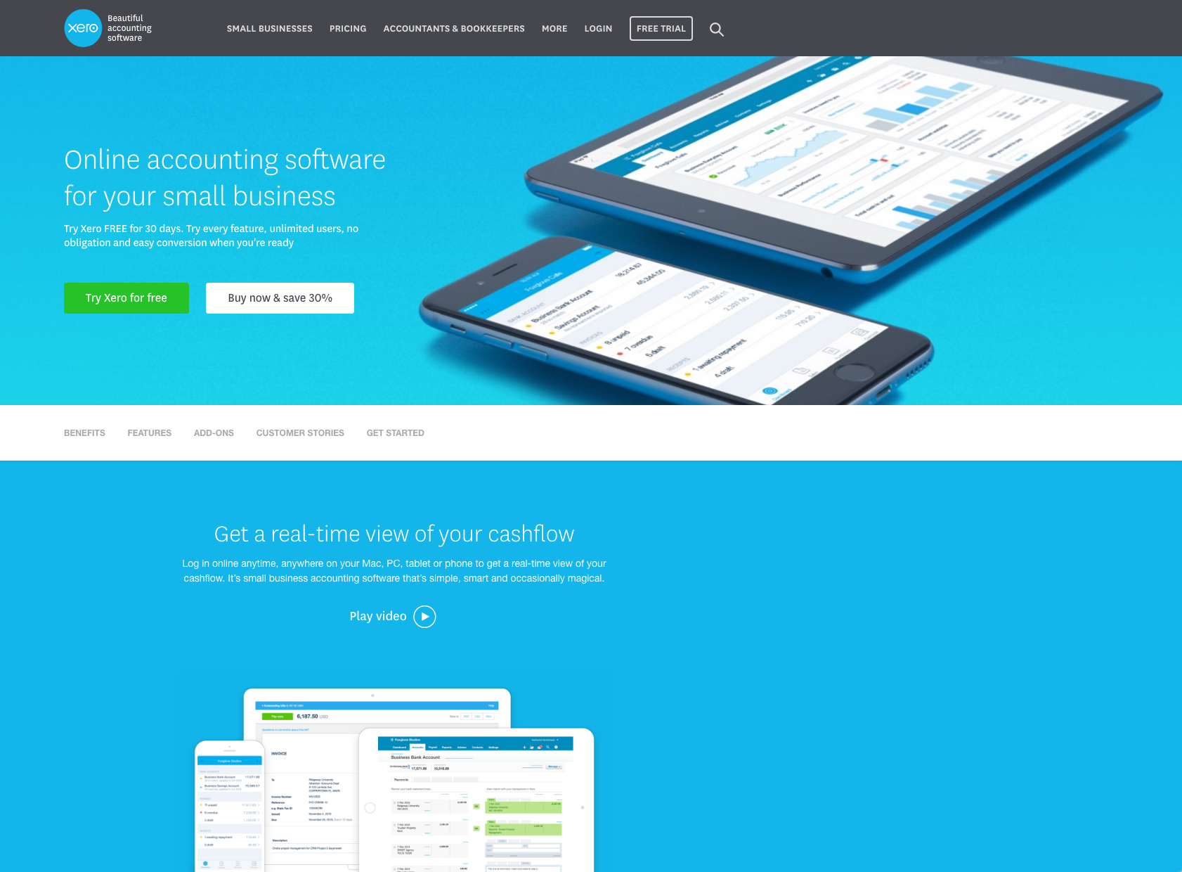 Xero accounting software offers all the features you need such as bill management, expense tracking, payroll, and more at a budget-friendly price